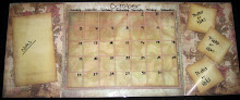 Wipe Off Calender/Note Board (SMP-M012)
