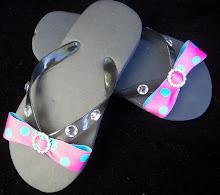 Flip Flops-Pink/Bling (SMP-M024)