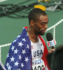 World of Sports: US-Goldmedaillen-Gewinner Tyson Gay (2007 in Osaka)