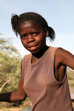 Junges Mädchen aus Namibia
