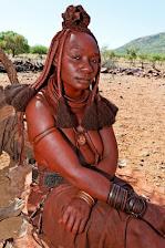 Himba-Frau aus Namibia