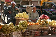 Obstverkäufer in Ägypten