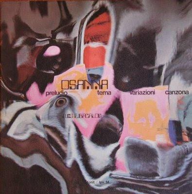 Osanna preludio, tema, variazioni, canzona 1972