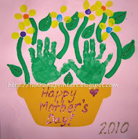 Handprint Flowerpot - Mother's Day Craft