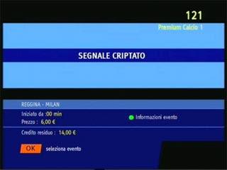 Mediaset Premium e il messaggio di Segnale Criptato: come fare e come risolvere