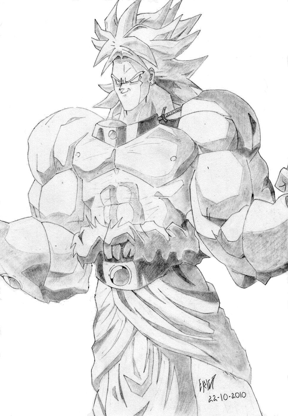 Dibujos hechos a mano de Dragon Ball y otros
