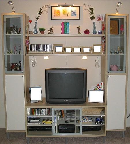 open box unlimited: ikea magiker entertainment center,
