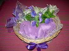 Hantaran Ready Made Purple + white