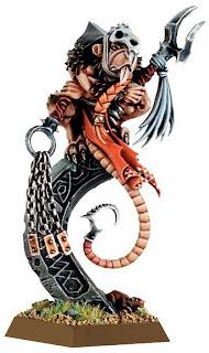 Tretch Craventail Skaven Hero model image