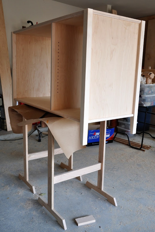 maple changing table