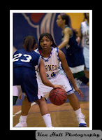 Jamesia Rouse on defense