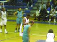 essence Chism at the free throw line