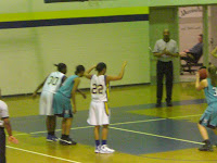 Vernessa Brown & Jasmine Shaw patrol the lane