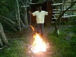 fogo  no  monte