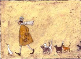 Leslie jane moran sam toft and the mustards i remember one day finding a greeting card at loomis and toles by the artist sam toft i was completely enchanted by the whimsy of her subjects and the m4hsunfo