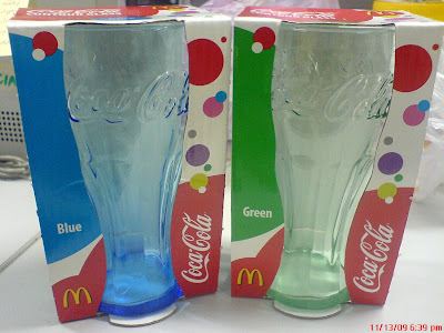 Collectible Contour Glasses Available At McDonalds's