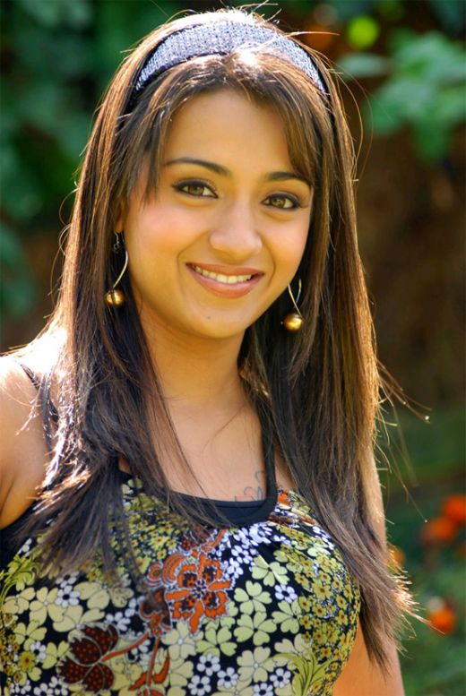 Trisha krishnan in bathroom