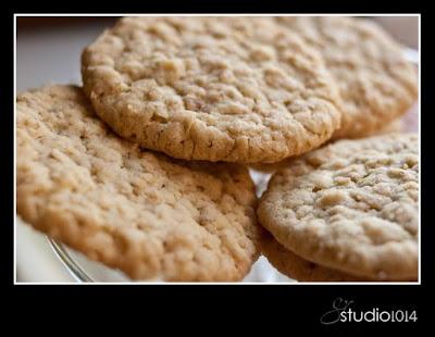 Swedish Oatmeal Cookies