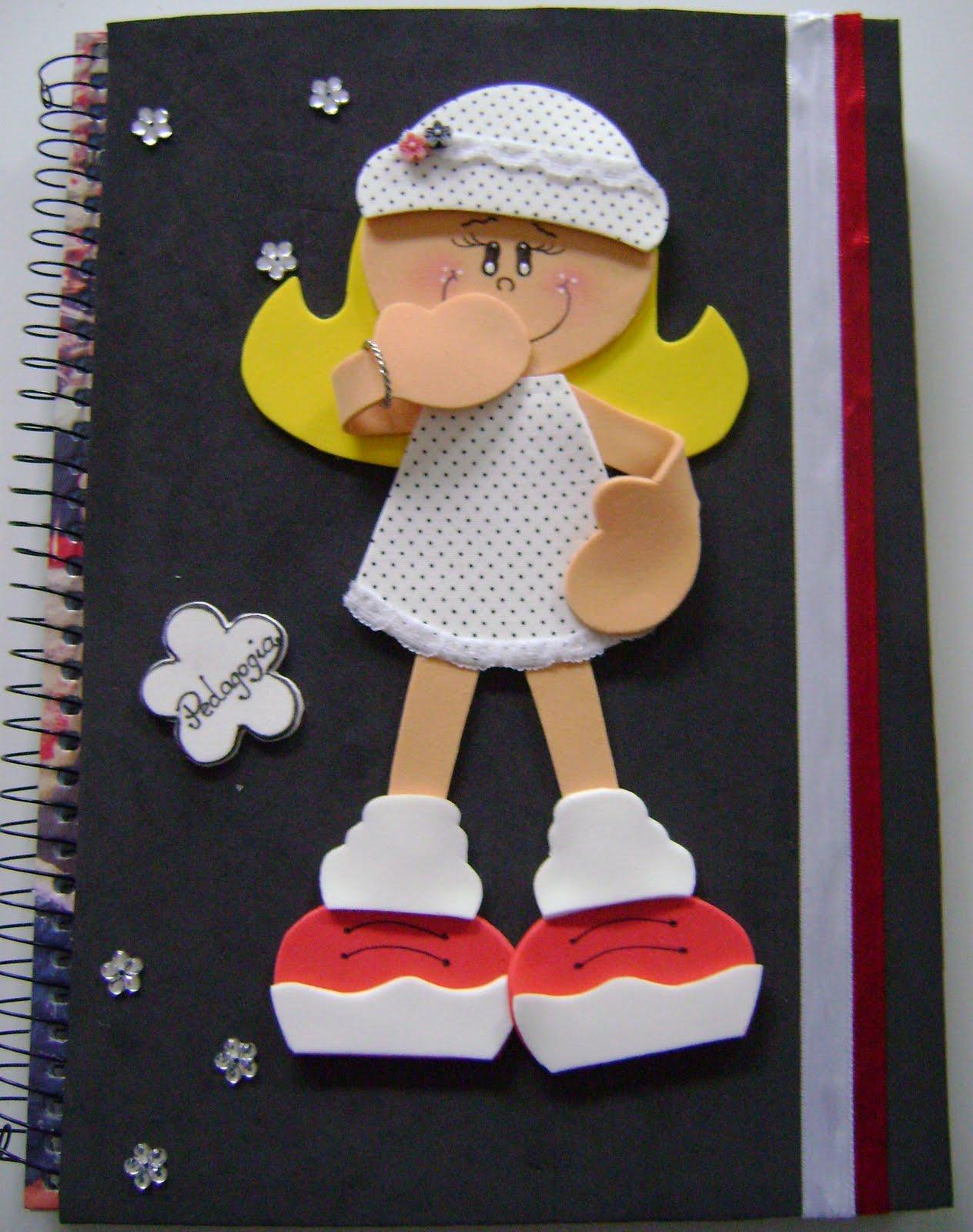 Capa Do Meu Caderno De Pedagogia
