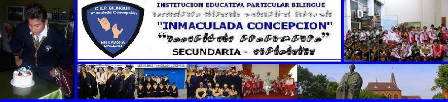 INSTITUCION EDUCATIVA BILINGUE INMACULA