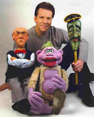jeff dunham peanut puppet. Ventriloquist Jeff Dunham.