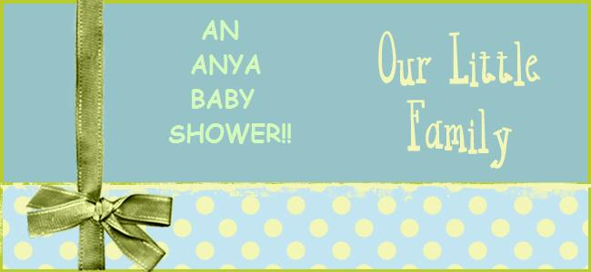 An Anya Baby Shower!!