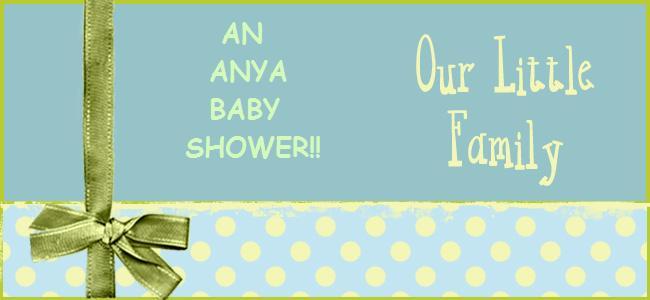 An Anya Baby Shower!!