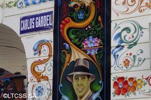 Calle y Museo Carlos Gardel.