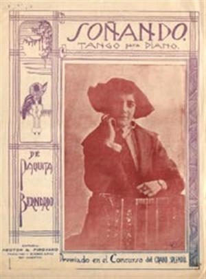 Retrato de Paquita.