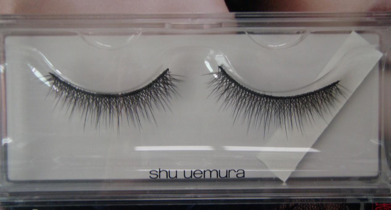 My Beauty Hoard Shu Uemura False Eyelashes Luxe Black Review