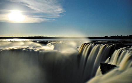 Las cataratas de Iguazù.