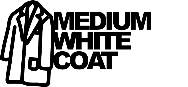 Medium White Coat