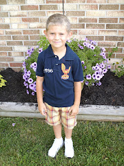 Philip's first day of Kindergarten!