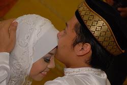 Di Hari mak bergelar isteri kepada Mohd Nur Afiq;)