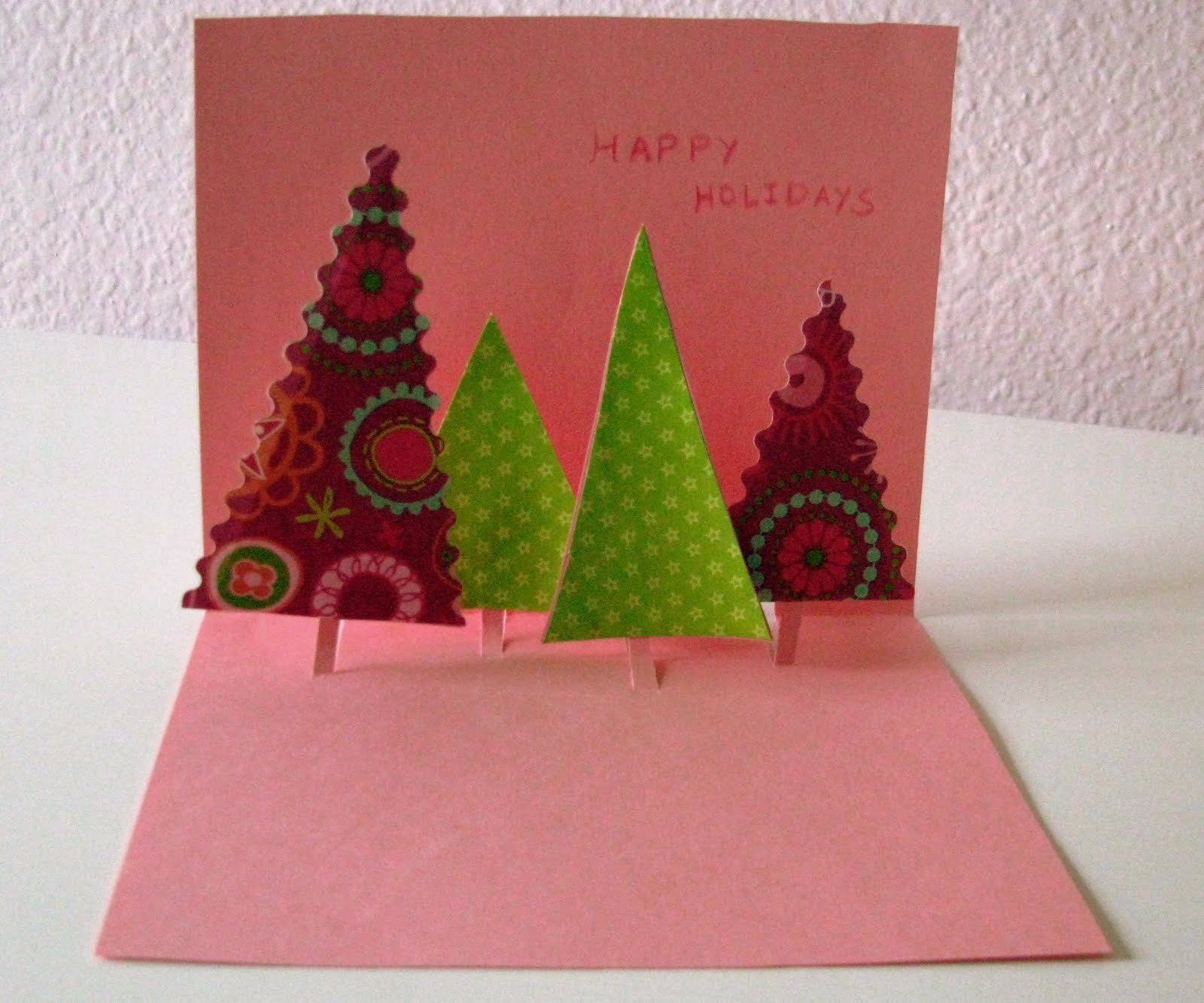 Pop Up Christmas Card Making Ideas Part - 41: Tuesday, December 14, 2010. Handmade Cards ...