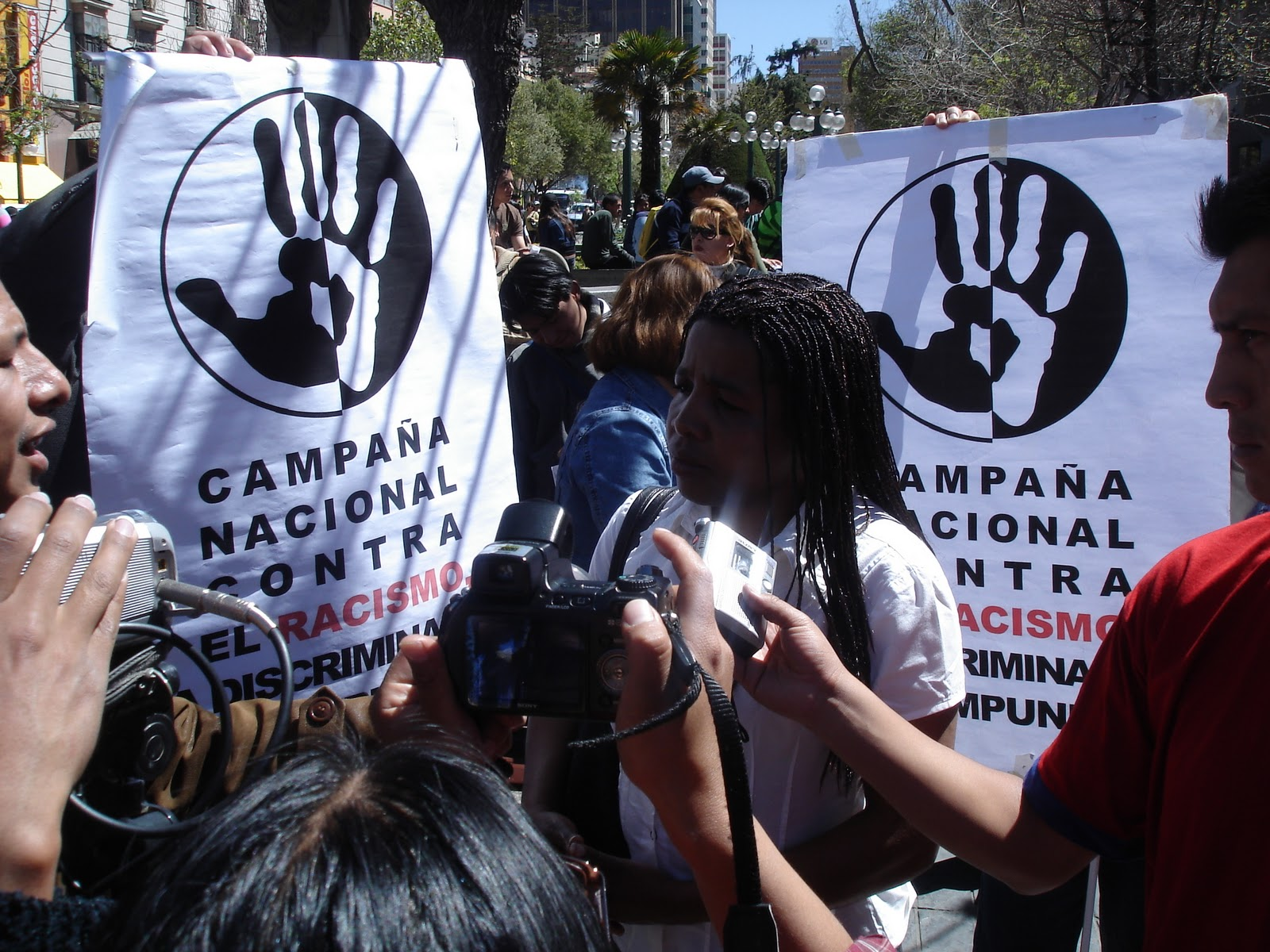 Racismo en Bolivia