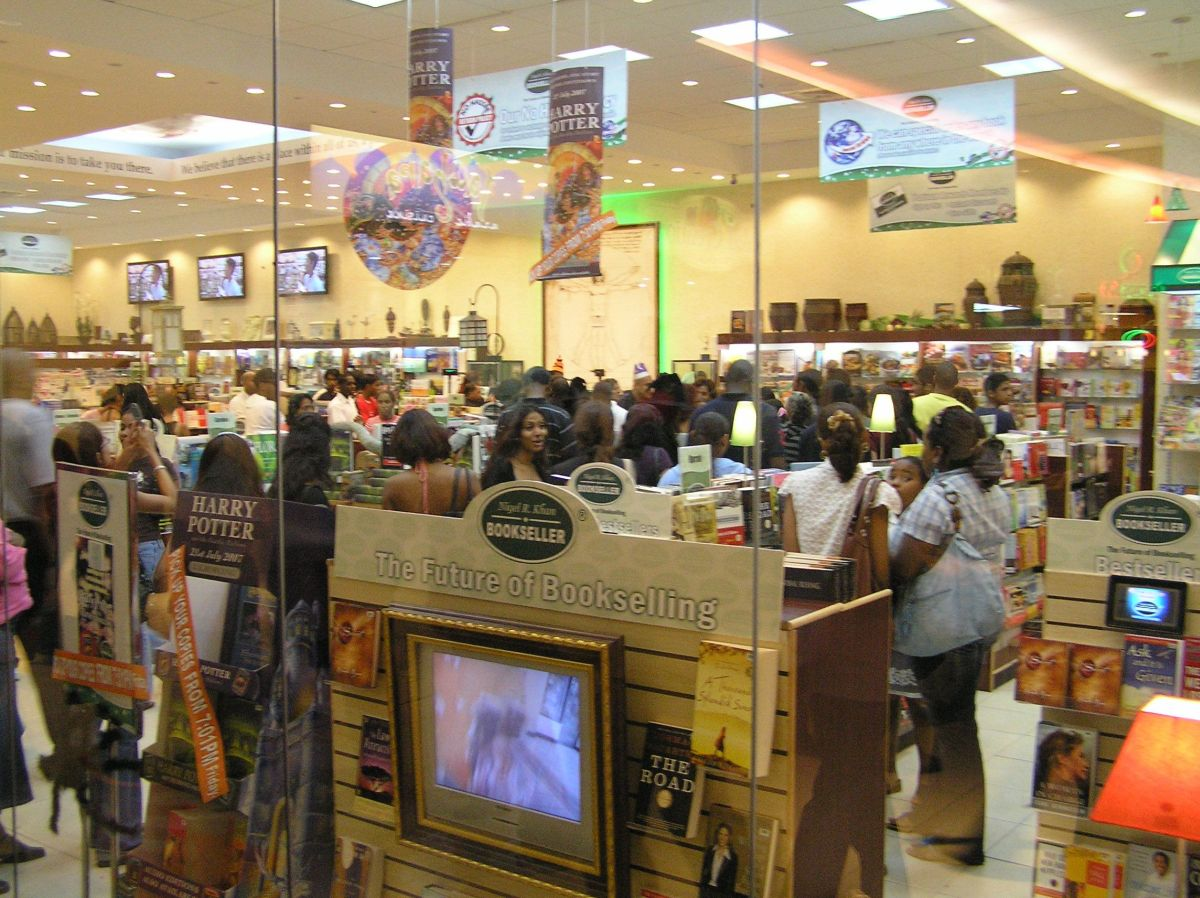 Sales of Harry Potter and the Deathly Hallows in Trinidad and Tobago