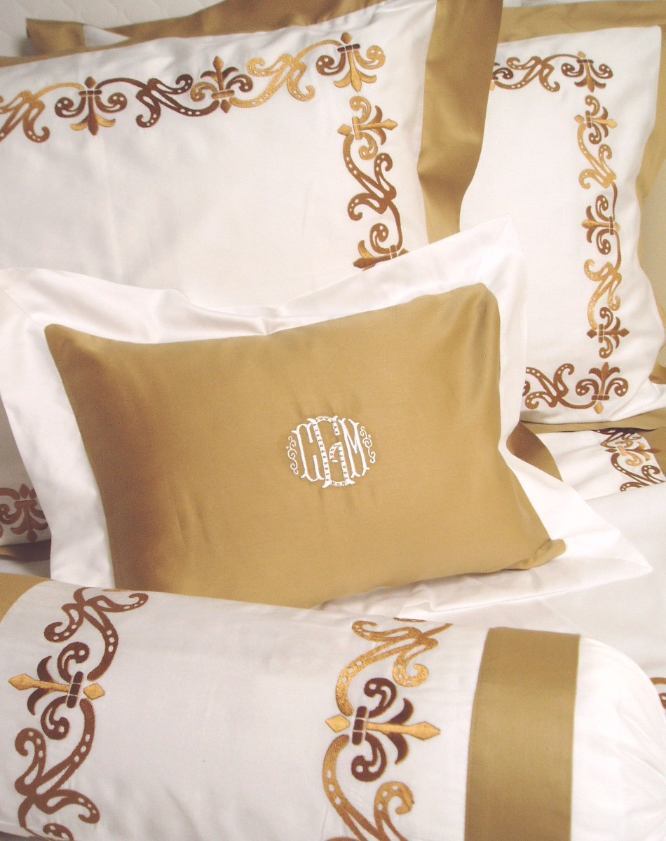 Bed sheet designs hand embroidery - Embroidery Designs For Bed Sheets Needle N Thread Needle N Thread Bed Cover Designs Decorate My House