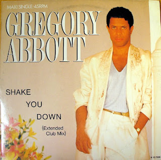 GREGORY ABBOTT - SHAKE YOU DOWN (SINGLE 12'') (1986)