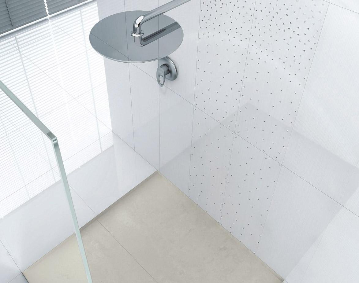 sonha ter um banheiro fashion A Cerâmica Portinari lançou dois kits  #5C676F 1173 926