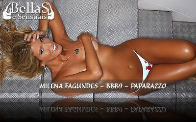 Milena do BBB9 nua no Paparazzo