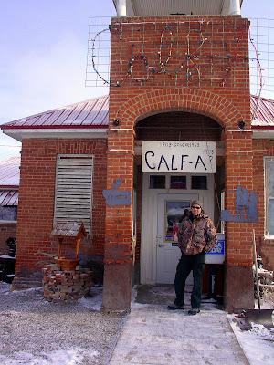 Calf-A at Dell, Montana