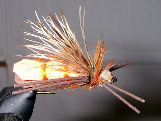 Billy's Salmon Fly - Side View