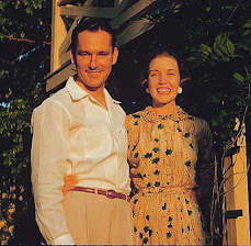 Richard D. Baker and his bride, Ann Self Baker, 1951