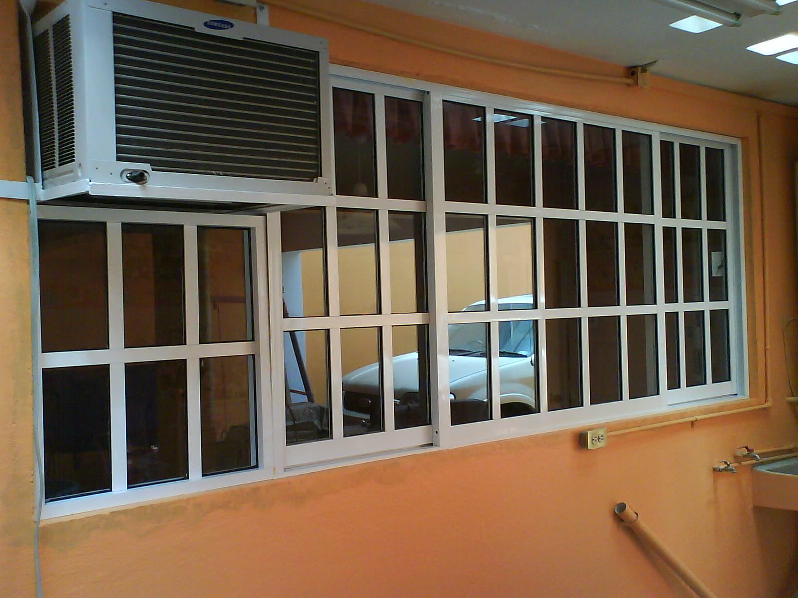 Alumividrio productos for Ver ventanas de aluminio blanco