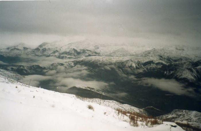 dağlarda kış