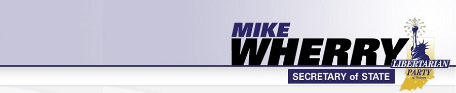 Mike Wherry for Indiana Secretary of State