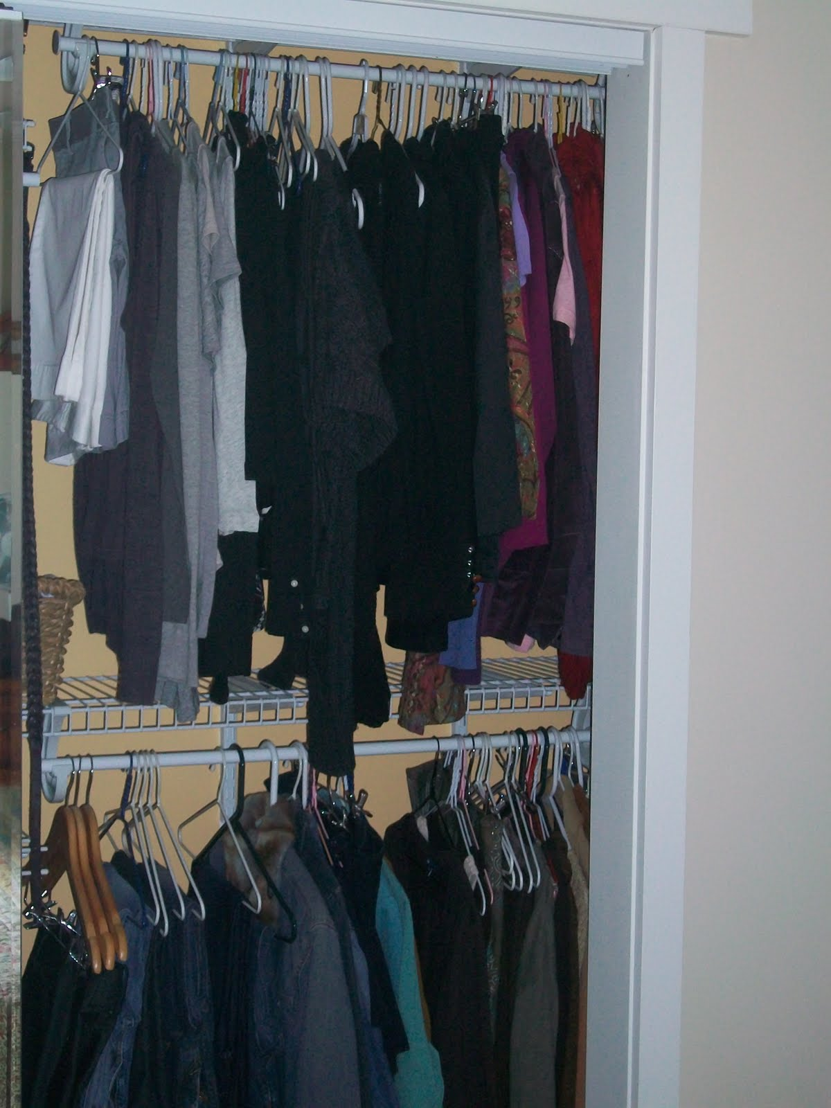 Pine Tree Home Color Coordinated Closet