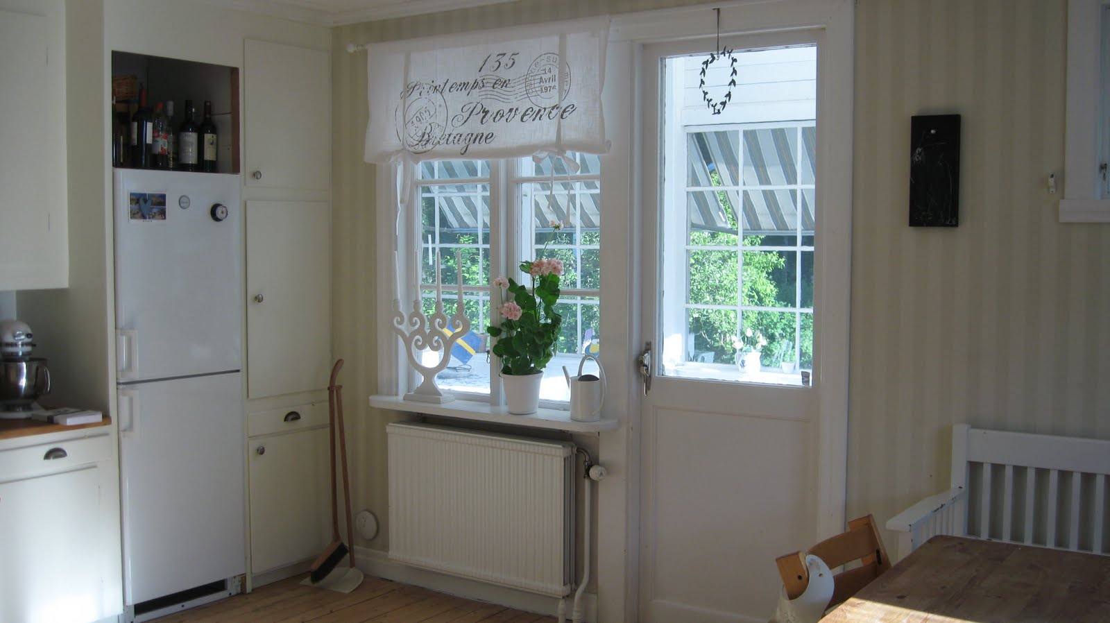 Koket Gardiner : koket gardiner  So nu or det hostfixat i koket med nya gardiner