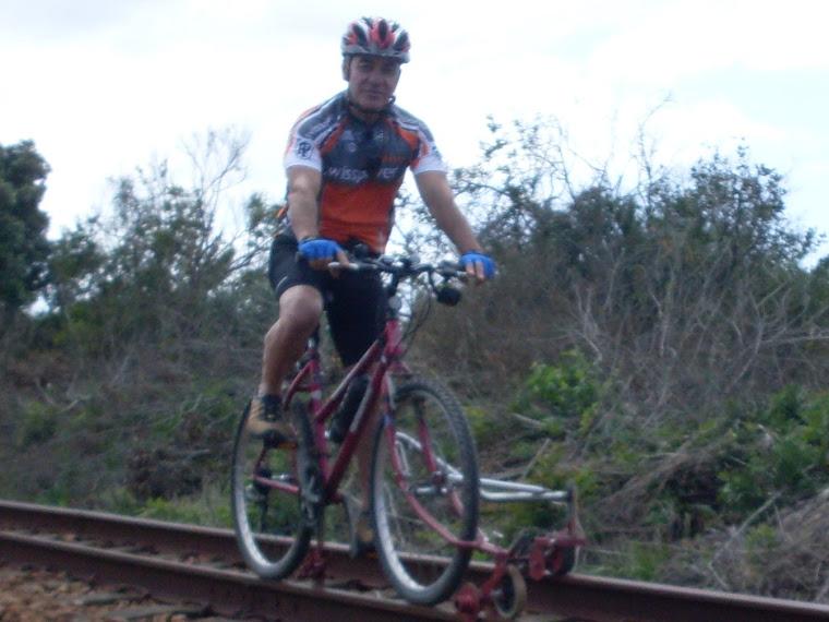 """Ferrobicicleta ou """"rail bike"""""""